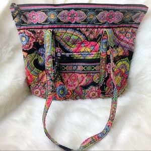 Vera Bradley Symphony in Hue Retired 2009 Tote